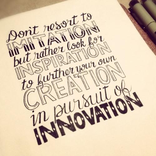 imitation-inspiration-creation-innovation